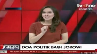 Presenter TV One Windy Ejek Jokowi Lewat Akun Twitter